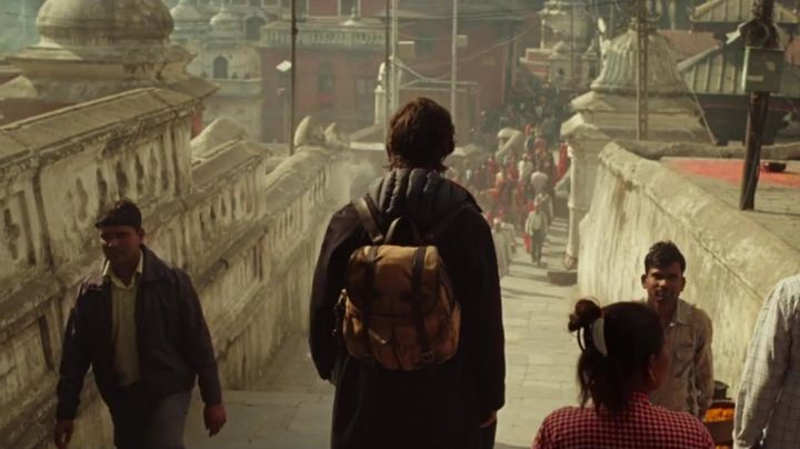 The backpack of the Dr. Stephen Strange (Benedict Cumberbatch) in Doctor Strange movie