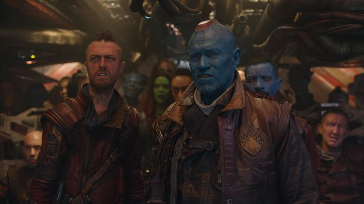 the badge of Ravager, Yondu Udonta (Michael Rooker) Guardians Of The Galaxy 2 - Movie Outfits and Products