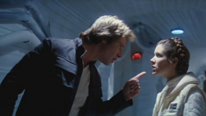 Fashion Trends 2021: The badge to paint Princess Leia (Carrie Fisher) in Star Wars V : The empire against attack