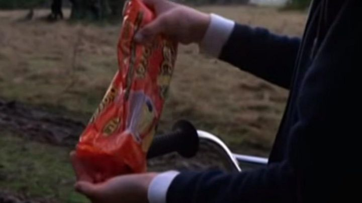 Fashion Trends 2021: The bag of Reese's Pieces, Elliot in E. T. the extra-terrestrial