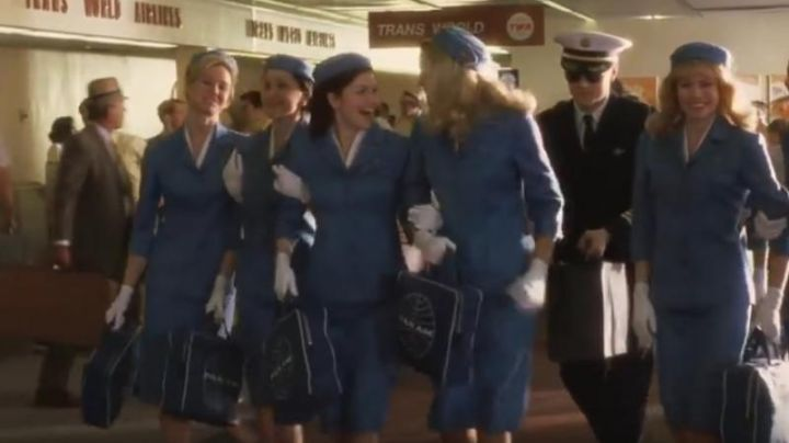 The bag of the Pan Am stewardesses in Catch me if you can