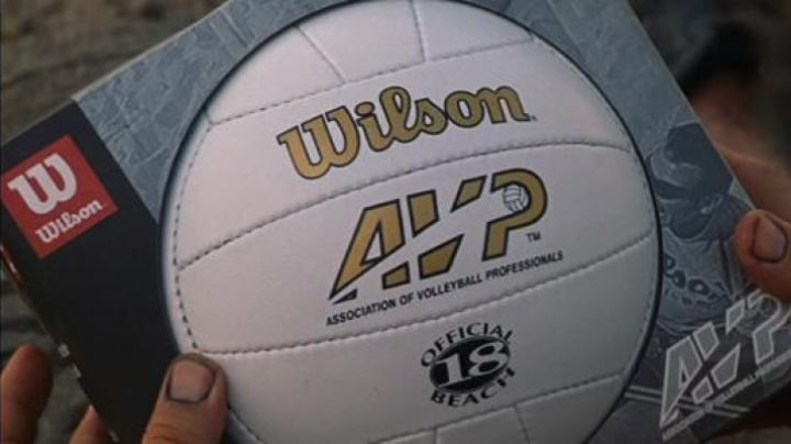 The ball of volleyball of the mark Wilson's Alone in the world - Movie Outfits and Products