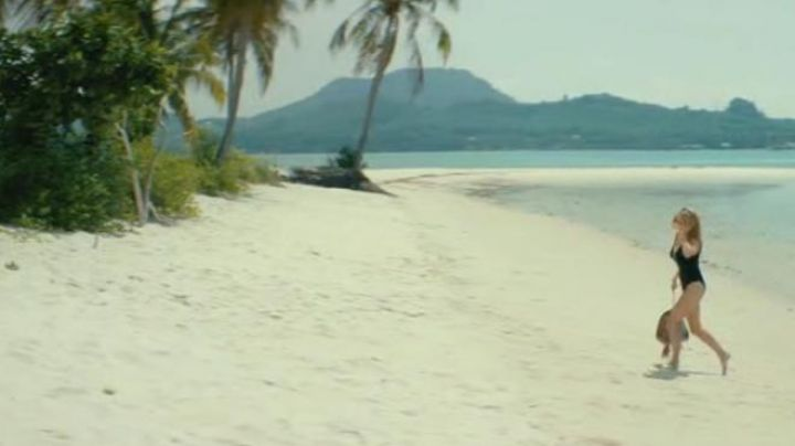 The beach in Thailand, in the film Five - Movie Outfits and Products