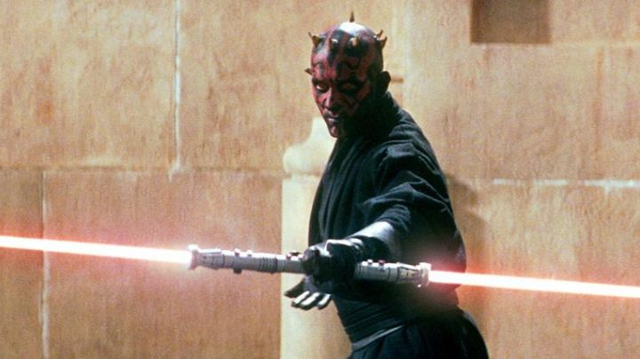 The belt of Darth Maul (Ray Park) in Star Wars Episode I : The phantom menace - Movie Outfits and Products