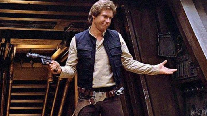 The belt of Han Solo (Harrison Ford) in Star Wars IV : A new hope - Movie Outfits and Products