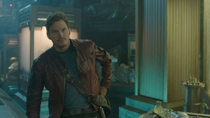 The belt of Star-Lord (Chris Pratt) in Guardians of the Galaxy movie