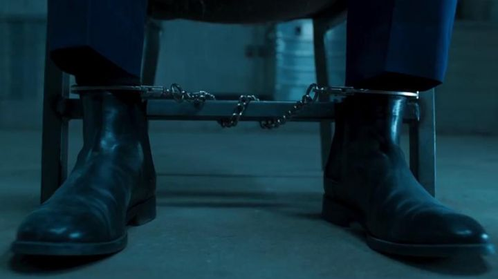 The black boots of Ulysses Klaue (Andy Serkis) in a Black Panther - Movie Outfits and Products
