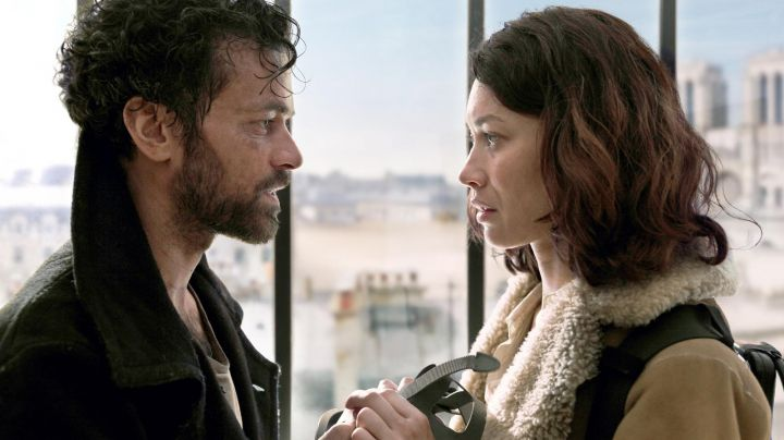 The black coat from Romain Duris in the mist Movie