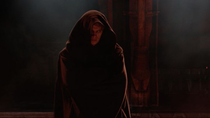 The black robe of Anakin Skywalker (Hayden Christensen) in Star Wars