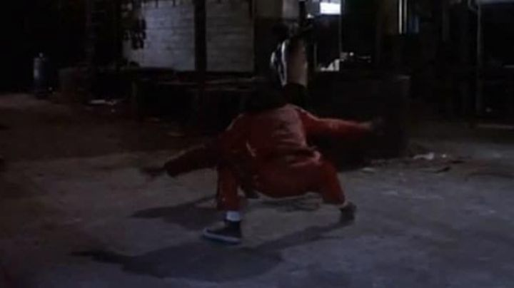 The black shoes in the movie the Last Dragon - Movie Outfits and Products