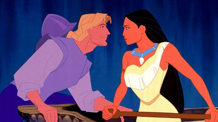 The black wig of Pocahontas in the cartoon Pocahontas - Movie Outfits and Products