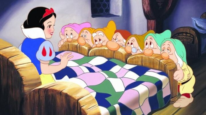 The black wig of Snow White in Snow White and the seven dwarfs - Movie Outfits and Products