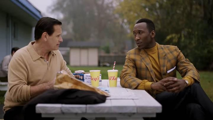 The blazer in plaid yellow of Don Shirley (Mahershala Ali) in Green Book Movie