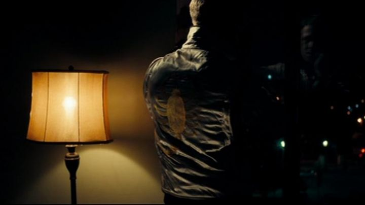 """The blazer """"scorpion"""" of the driver (Ryan Gosling) in Drive - Movie Outfits and Products"""