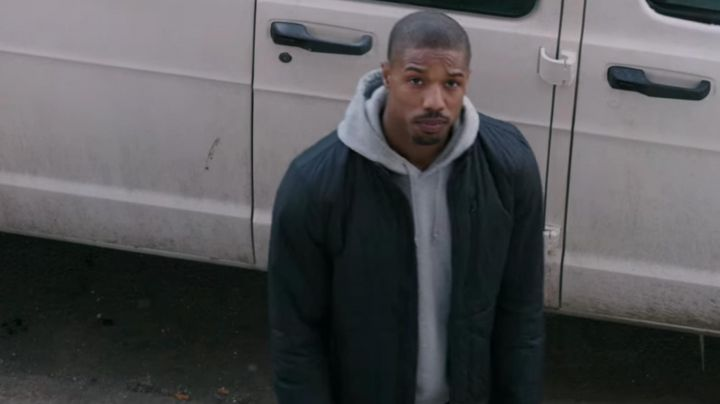 Fashion Trends 2021: The blue jacket quilted Michael B. Jordan in Creed