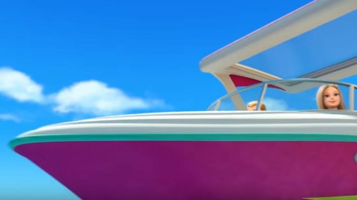 The boat, outboard of Barbie in Barbie and the magic of dolphins - Movie Outfits and Products