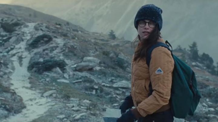 The bomber jacket Pyrennex Valentine (Kristen Stewart) in Sils Maria - Movie Outfits and Products