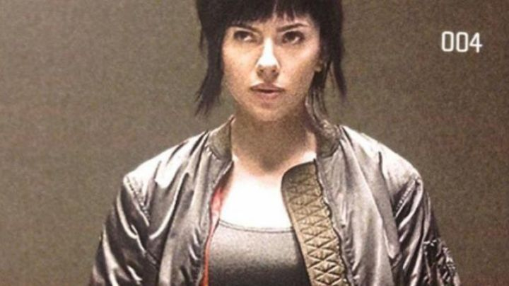 The Bomber Of Major Scarlett Johansson In Ghost In The Shell Movie