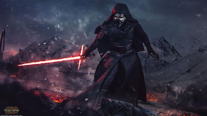 """Fashion Trends 2021: The boots Kylo Ren (Adam Driver) in """" Star Wars VII : The awakening of the force"""