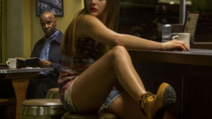 Fashion Trends 2021: The boots with heels, Teri (Chloe Grace Moretz) in Equalizer