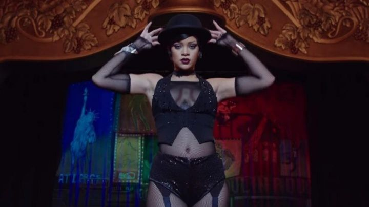 The bowler hat-black Bubble (Rihanna) in Valérian and the City of ten thousand planets
