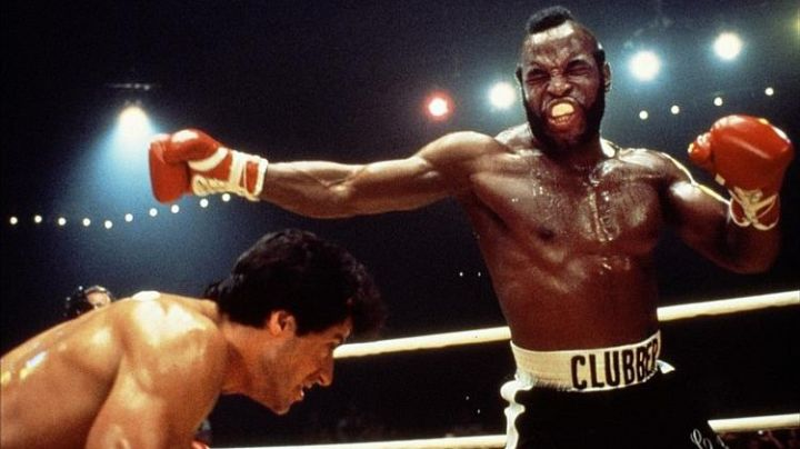 The boxing shorts Clubber Lang (Mr. T.) in Rocky 3 - Movie Outfits and Products
