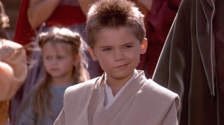 The braid of Jedi Anakin Skywalker (Jake Lloyd) in Star Wars I : The phantom menace - Movie Outfits and Products