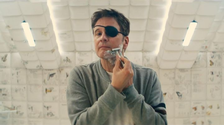 The cache look to Galahad / Harry Hart (Colin Firth) in Kingsman : The Golden Circle - Movie Outfits and Products