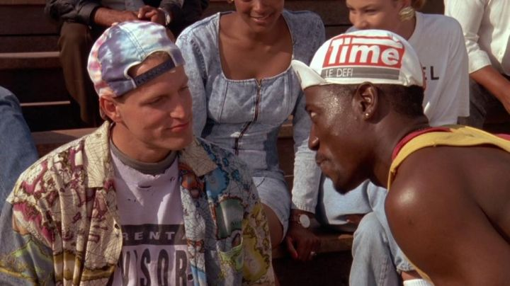 The cap Time The Challenge of Sidney Deane (Wesley Snipes) in The men do not know how to jump - Movie Outfits and Products