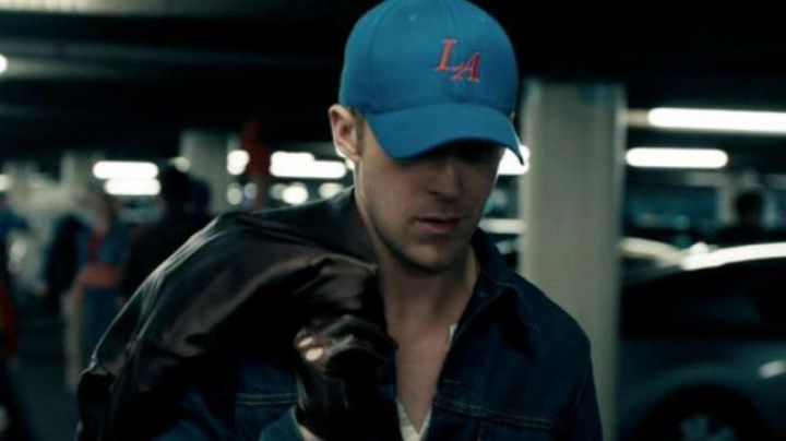 The cap blue New Era Los Angeles Dodgers of Ryan Gosling in Drive