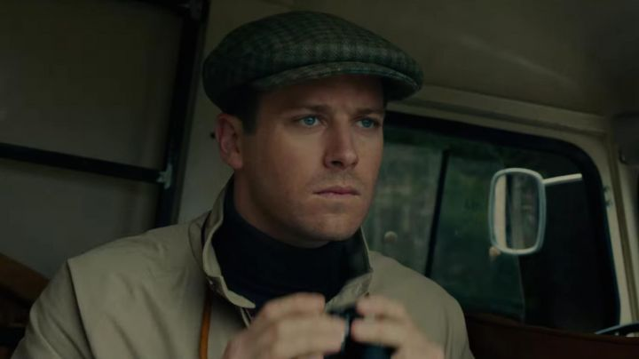 The cap tweed country of Illya Kouriakine (Armie Hammer) in The Man from U. N. C. L. E. movie