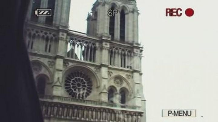 The cathedral of Notre dame de Paris in The holidays of Mr Bean - Movie Outfits and Products