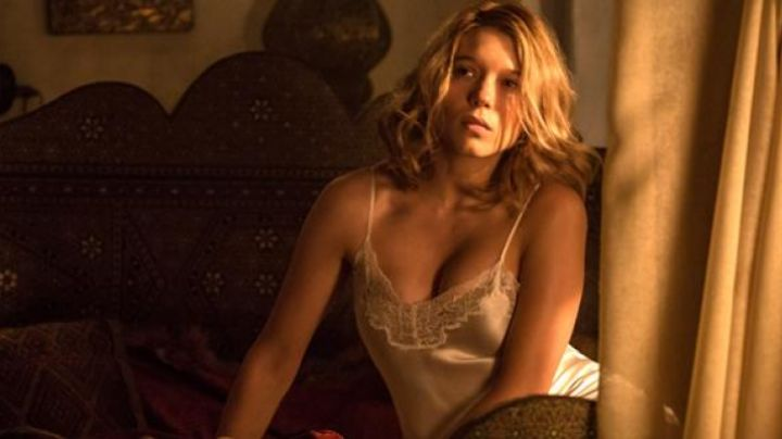 Fashion Trends 2021: The chemise silk lace Léa Seydoux in Spectre