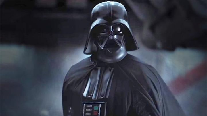 The chest plate of Darth Vader (Spencer Wilding and Daniel Naprous) in Rogue One : A Star Wars Story