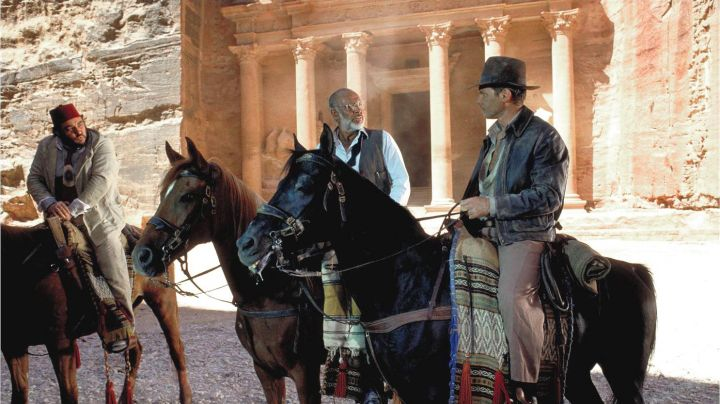 The city of Petra in Jordan in Indiana Jones - Movie Outfits and Products