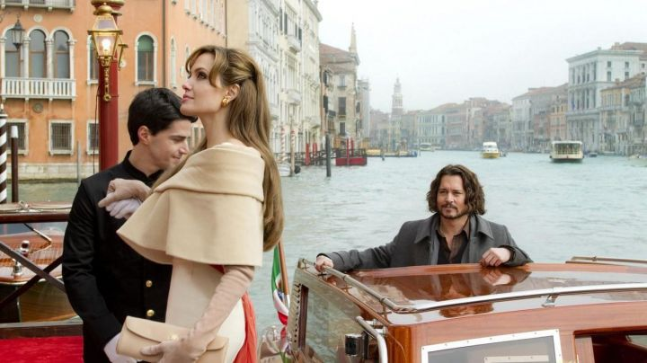 The city of Venice in the movie the Tourist - Movie Outfits and Products
