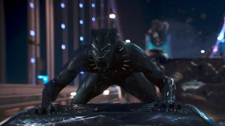 The claws of the Black Panther (Chadwick Boseman) in a Black Panther - Movie Outfits and Products