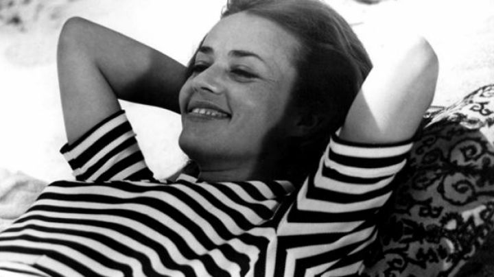 The clearance of Jeanne Moreau in Jules and Jim movie