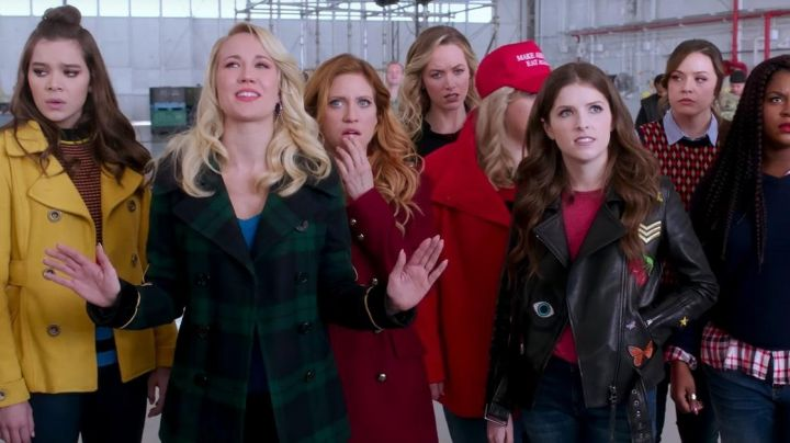 The coat Ralph Lauren Aubrey (Anna Camp in Pitch Perfect 3 - Movie Outfits and Products