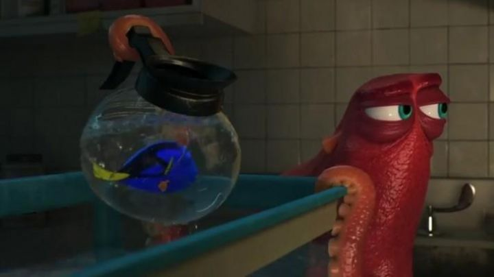 Fashion Trends 2021: The coffee maker/aquarium used by Dory in The World of Dory
