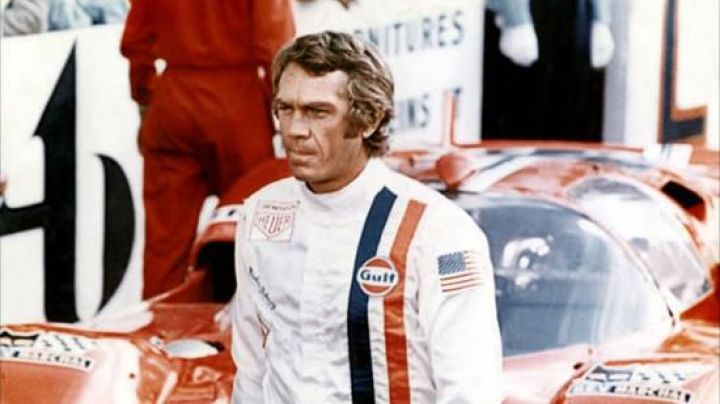 The combination of Michael Delaney (Steve McQueen) in Le Mans Movie