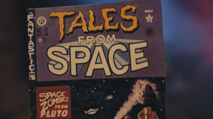 """Fashion Trends 2021: The comic """"Tales From Space"""" in Back to the future"""