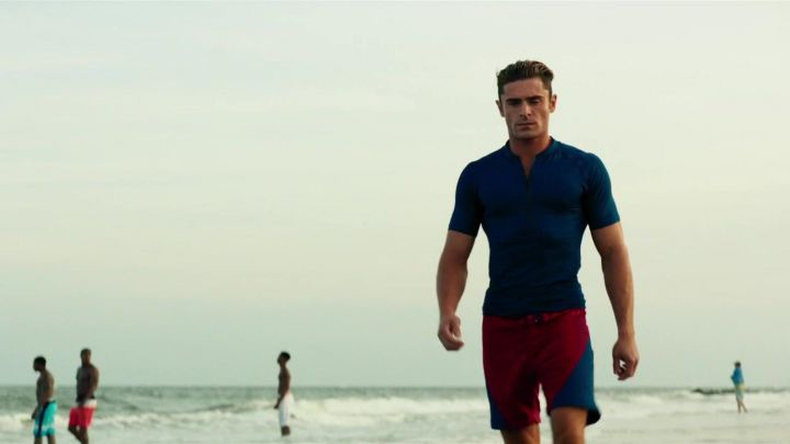 The complete outfit of Lifeguard Matt Brody (Zach Efron) in Baywatch : baywatch movie