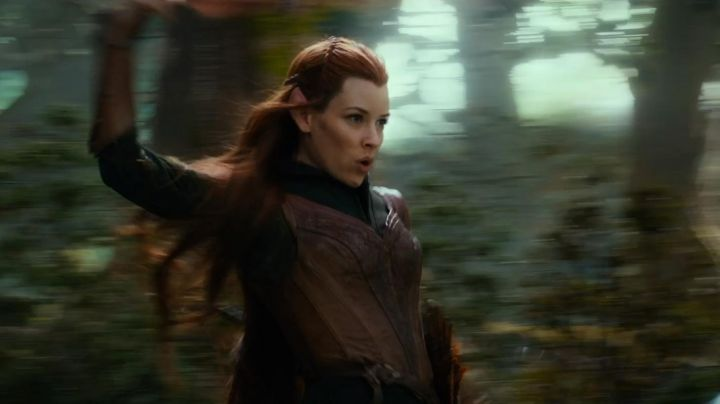 The corset leather Tauriel (Evangeline Lilly) in The Hobbit : The Desolation of Smaug - Movie Outfits and Products