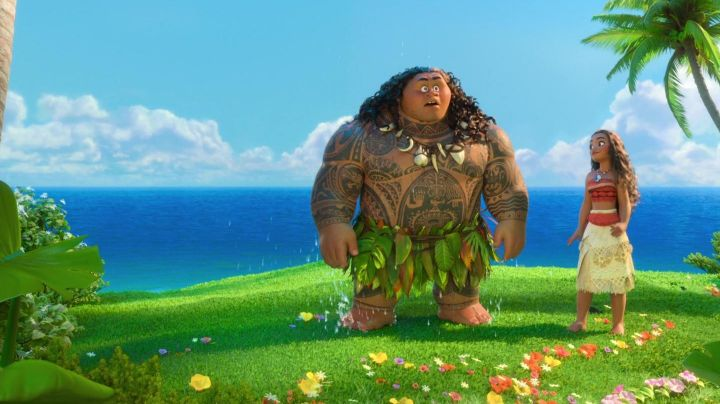 Fashion Trends 2021: The costume Vaiana in the cartoon Vaiana, the Legend of the end of the world