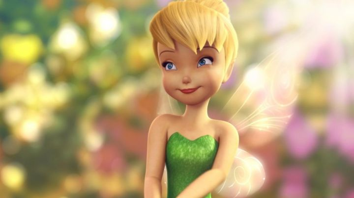 The costume (baby version) of the Fairy Tinkerbell in The Tinkerbell - Movie Outfits and Products
