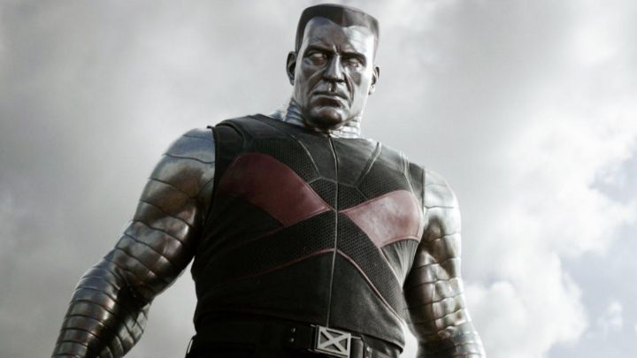 The costume of Colossus (Stefan Kapicic) in Deadpool 2 Movie