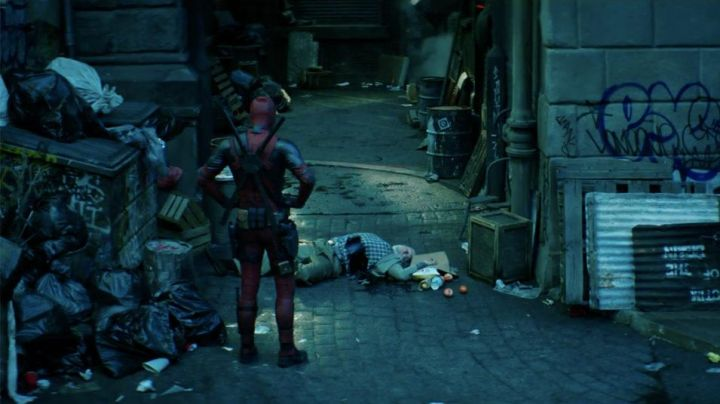The costume of Deadpool's Wade Wilson (Ryan Reynolds in Deadpool 2 - Movie Outfits and Products