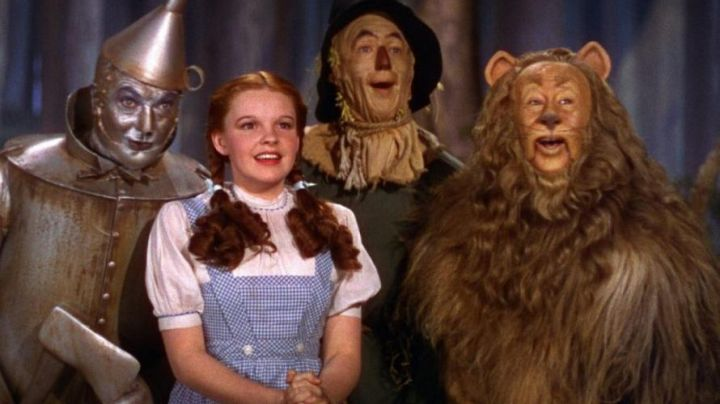 The costume of Dorothy (Judy Garland) in The Wizard of Oz (1939) - Movie Outfits and Products