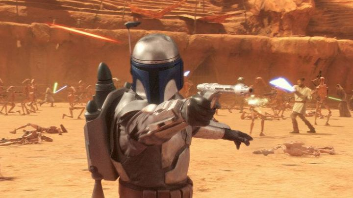 Fashion Trends 2021: The costume of Jango Fett in Star Wars, episode II - Attack of The clones